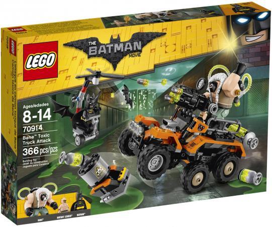 Конструктор LEGO Фильм: Бэтмен - Химическая атака Бэйна 366 элементов 70914 палантин 70 180 см ганг цвет мультиколор