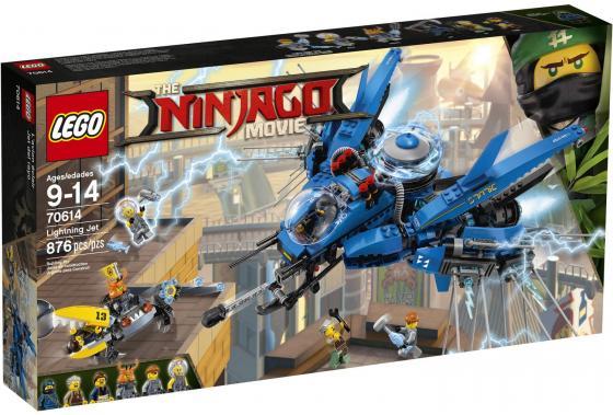 Конструктор LEGO Ninjago: Самолёт-молния Джея 876 элементов 70614