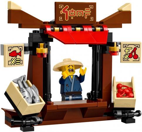 Конструктор LEGO Ninjago: Ограбление киоска в Ниндзяго Сити 233 элемента 70607 lego ninjago 70737 битва механических титанов