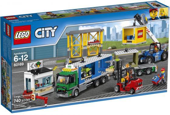 Конструктор LEGO City Грузовой терминал 740 элементов 60169 конструкторы lego lego грузовой вертолёт исследователей джунглей city jungle explorer 60158
