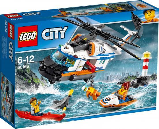 Конструктор LEGO City Сверхмощный спасательный вертолёт 415 элементов 60166 lego city 60166 конструктор лего город сверхмощный спасательный вертолёт