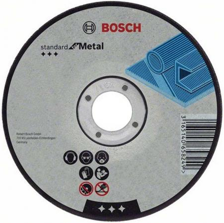 Отрезной круг Bosch Standard 125х2.5мм 2608603166