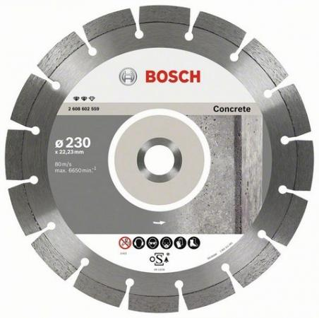 Алмазный диск Bosch Expert 2608602556