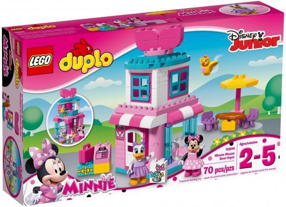 Конструктор LEGO Duplo: Магазинчик Минни Маус 70 элементов 10844 конструктор lego duplo кафе минни 27 элементов 10830