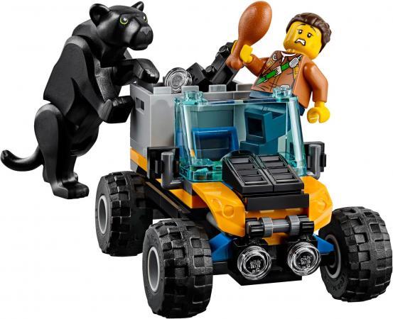 Конструктор LEGO City: Миссия Исследование джунглей 378 элементов 60159 lego city 60159 лего город миссия исследование джунглей