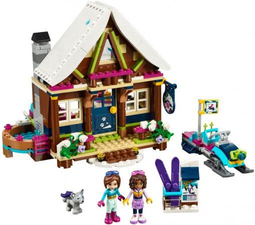 Конструктор LEGO Friends: Горнолыжный курорт - Шале 402 элемента 41323