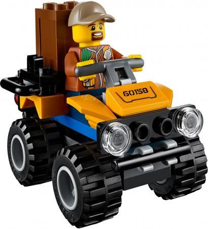 Конструктор LEGO City: Грузовой вертолёт исследователей джунглей 201 элемент 60158 радиатор отопления dia norm compact ventil 22 500x800