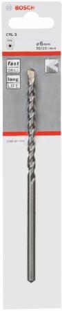 Сверло Bosch 2608597679 CYL-3 6x150мм SilverPerc