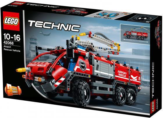 Конструктор LEGO Technic: Автомобиль спасательной службы 1094 элемента 42068 йошихито исогава большая книга идей lego technic машины и механизмы