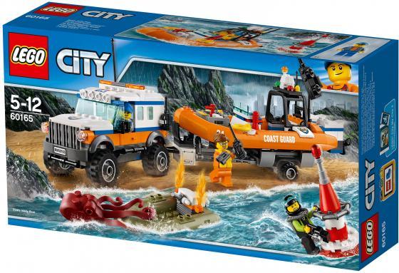 Конструктор LEGO City Внедорожник 4x4 команды быстрого реагирования 347 элементов 60165 lego горный внедорожник 70589