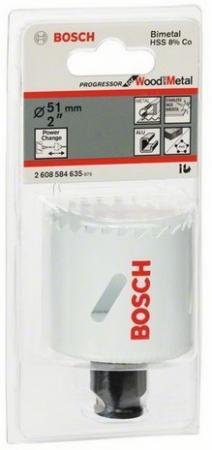 Коронка Bosch Progressor 51мм 2608584635