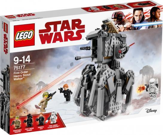 Конструктор LEGO Star Wars Тяжелый разведывательный шагоход Первого Ордена 554 элемента 75177 lego star wars 75153 лего звездные войны разведывательный транспортный шагоход at st™