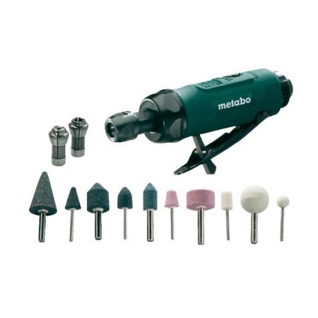 Пневмопрямошлифмашина Metabo DG 25 Set 604116500 цены онлайн