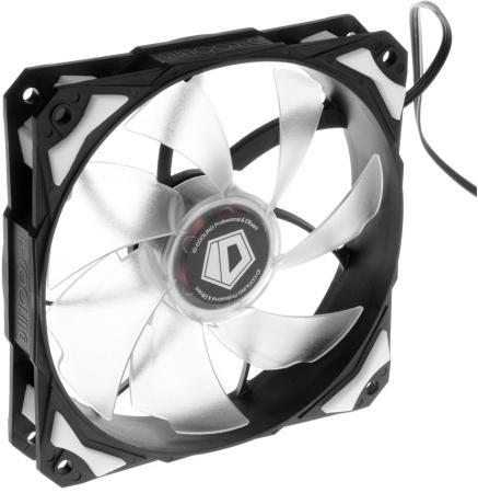 Вентилятор ID-Cooling PL-12025-W 120x120x25mm 600-2200rpm вентилятор polaris psf 40 rc w
