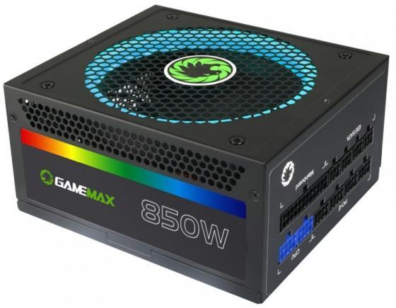 Блок питания ATX 850 Вт GameMax GM-850RGB цена и фото