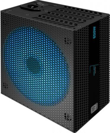 Блок питания ATX 650 Вт Aerocool Project7 P7-650W Platinum блок питания atx 850 вт aerocool project7 acp 850fp7 p7 850w platinum