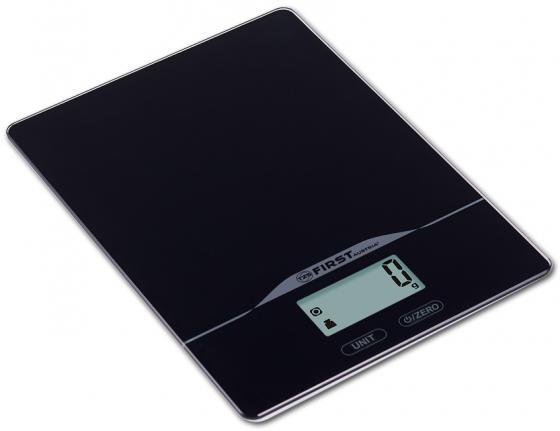 Весы кухонные First FA-6400-2-BA чёрный весы first fa 8015 2 blue