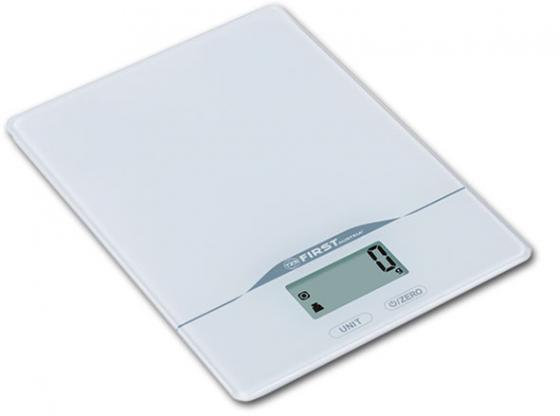 Весы кухонные First FA-6400-2-WI белый