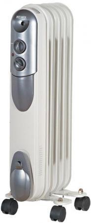 Масляный радиатор Ресанта ОМПТ- 5Н 1000 Вт белый