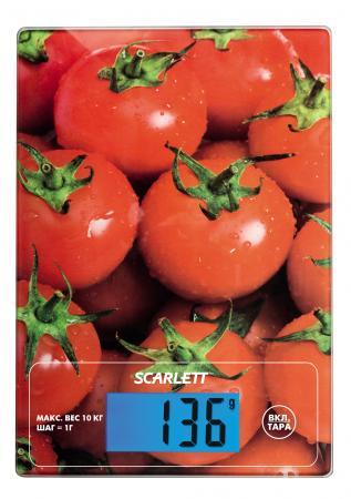 Весы кухонные Scarlett SC-KS57P10 рисунок
