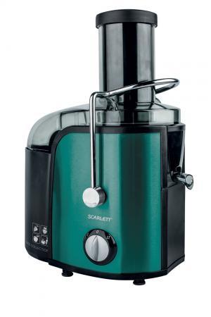 Соковыжималка Scarlett SC-JE50S29 1000 Вт чёрный зелёный