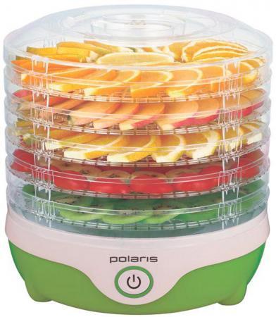 Купить со скидкой Сушилка для овощей и фруктов Polaris PFD 0305 белый зелёный