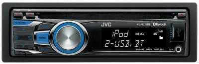 Автомагнитола JVC KD-R727BTEE USB MP3 CD FM RDS 1DIN 4x50Вт черный