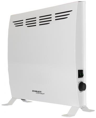 Конвектор Scarlett SCA H VER4 1500 1500 Вт белый биокамин silver smith mini 3 premium 1500 вт серый