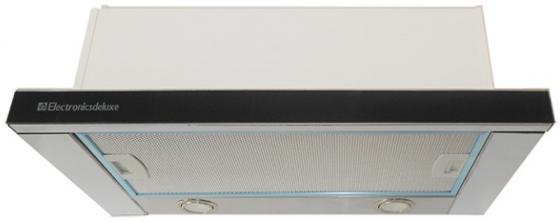 Вытяжка встраиваемая Electronicsdeluxe IREN GLASS ACB-SP60-S-B черный/серебристый