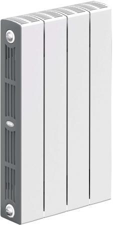 Радиатор RIFAR SUPReMO 500 х 4 биметаллический радиатор rifar рифар b 500 нп 10 сек лев кол во секций 10 мощность вт 2040 подключение левое
