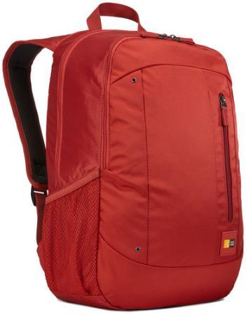 Рюкзак для ноутбука 15.6 Case Logic Jaunt WMBP-115 Racing Red нейлон красный case logic vnb 217 black рюкзак для ноутбука 17