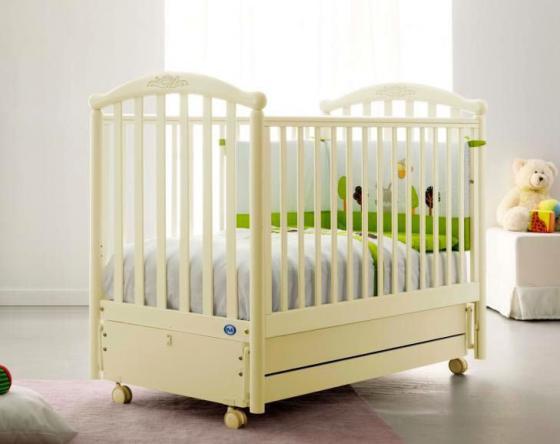 Кроватка с маятником Pali Giulia (магнолия) кроватка качалка pali principe prestige магнолия