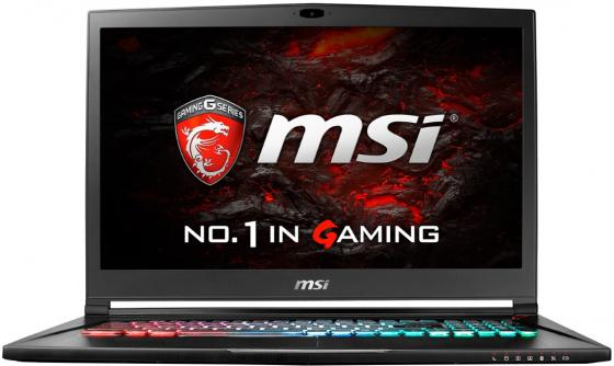 Ноутбук MSI S73VR 7RF-437RU Stealth Pro 17.3 1920x1080 Intel Core i7-7700HQ 2 Tb 256 Gb 16Gb nVidia GeForce GTX 1060 6144 Мб черный Windows 10 Home ноутбук msi gs43vr 7re 094ru phantom pro 14 1920x1080 intel core i5 7300hq 1 tb 128 gb 16gb nvidia geforce gtx 1060 6144 мб черный windows 10 home 9s7 14a332 094