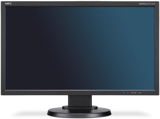 Монитор 23 NEC MultiSync E233WMi черный IPS 1920x1080 250 cd/m^2 6 ms DVI-D VGA DisplayPort nec multisync ea193mi
