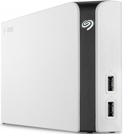 Внешний жесткий диск 3.5 USB3.0 8Tb Seagate Game Drive Hub STGG8000400 белый внешний жесткий диск seagate game drive for xbox 4tb белый