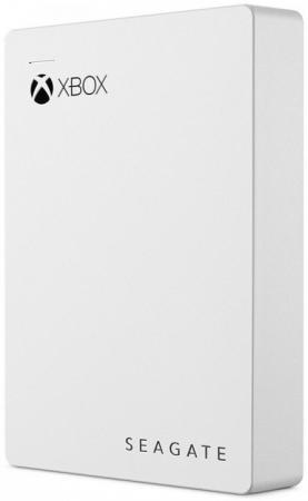 Внешний жесткий диск 2.5 USB 3.0 4Tb Seagate Game Drive белый STEA4000407 внешний жесткий диск seagate game drive for xbox 4tb белый