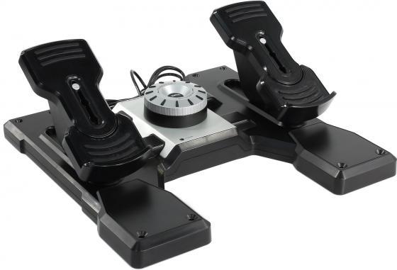 купить Джойстик Logitech G Saitek PRO Flight Rudder Pedals педали управления рулём и ножным тормозом для авиасимуляторов онлайн