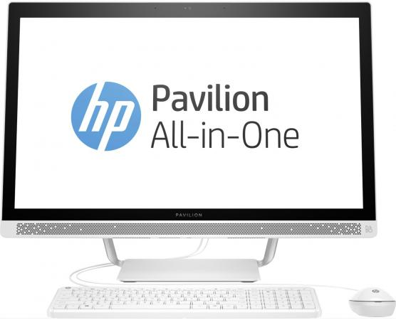 Моноблок 27 HP Pavilion 27-r006ur 1920 x 1080 Intel Core i3-7100T 8Gb 1 Tb 16 Gb AMD Radeon 530 2048 Мб Windows 10 Home белый 2MJ66EA моноблок 23 8 hp pavilion 24 x003ur 1920 x 1080 multi touch intel core i3 7100t 4gb 1 tb 16 gb intel hd graphics 630 64 мб windows 10 home белый 2mj54ea