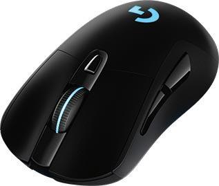Мышь беспроводная Logitech G703 чёрный USB + радиоканал 910-005093 мышь беспроводная logitech b170 чёрный usb радиоканал 910 004798