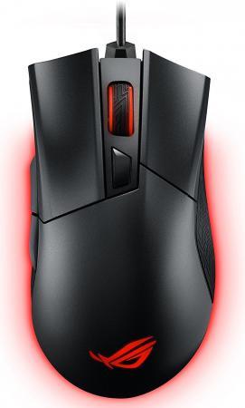 цена на Мышь проводная ASUS P502 Rog Gladius II чёрный USB