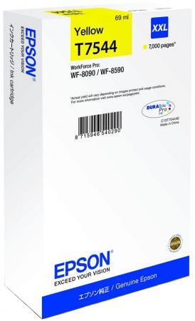 Картридж Epson C13T754440 для Epson WF-8090/8590 желтый