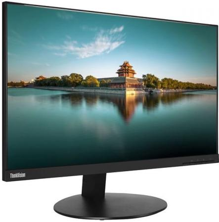 Монитор Lenovo ThinkVision T24i черный IPS 1920x1080 250 cd/m^2 6 ms VGA HDMI DisplayPort USB монитор 27 dell p2717h черный ips 1920x1080 300 cd m^2 6 ms hdmi displayport vga usb 2717 5104