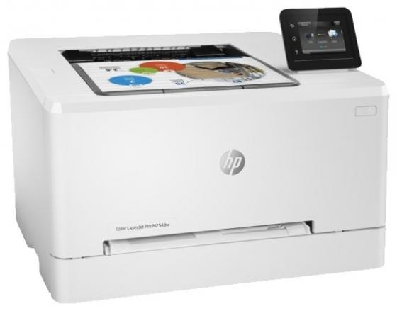 Принтер HP Color LaserJet Pro M254dw T6B60A цветной A4 21ppm 600x600dpi 256Mb Ethernet USB Wi-Fi new paper delivery tray assembly output paper tray rm1 6903 000 for hp laserjet hp 1102 1106 p1102 p1102w p1102s printer