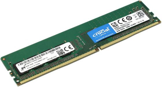 Оперативная память 8Gb PC4-21300 2666MHz DDR4 DIMM Crucial CT8G4DFS8266 цена и фото