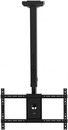 Кронштейн North Bayou T3260 для ЖК ТВ 32-60 потолочный высота 900-1500мм наклон -20°/+2° поворот 360° VESA 400x600 до 45.5 кг черный