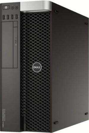 Фото #1: Системный блок DELL Precision T7810 E5-2620v4 2.1GHz 64Gb 2Tb 512Gb SSD DVD-RW Win7Pro черный 7810-4