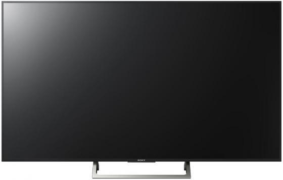 Телевизор 43 SONY KD-43XE7096BR черный 3840x2160 50 Гц Wi-Fi Smart TV RJ-45 WiDi телевизор led 40 bbk 40lex 5027 t2c черный 1366x768 50 гц wi fi smart tv vga rj 45