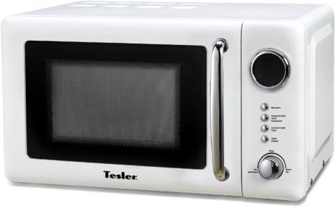 Микроволновая печь TESLER ME-2052 700 Вт белый микроволновая печь bbk 23mws 927m w 900 вт белый
