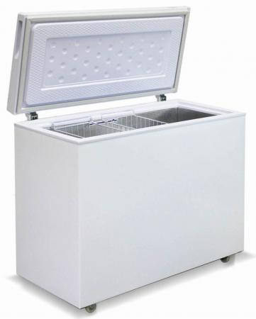 лучшая цена Морозильный ларь Бирюса Б-285VK белый