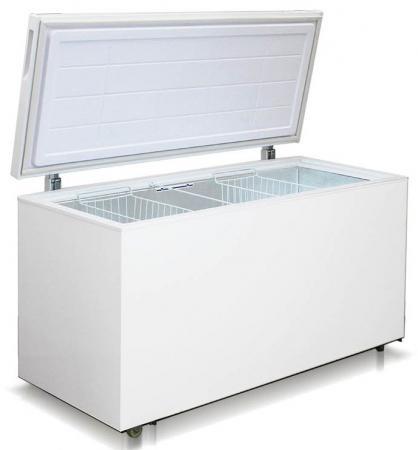 Морозильный ларь Бирюса Бирюса 455VК белый морозильный ларь hansa fs300 3 белый